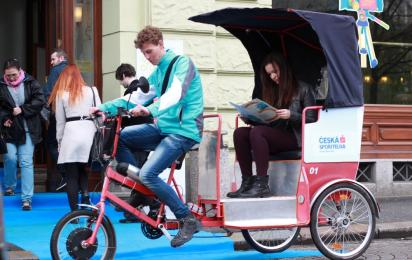 Festival rickshaw - fast and for free